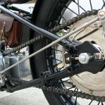 Bullet Falcon Motorcycle Left Side Details
